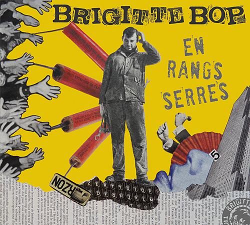Album de Brigitte Bop en rangs serrés (recto pochette)